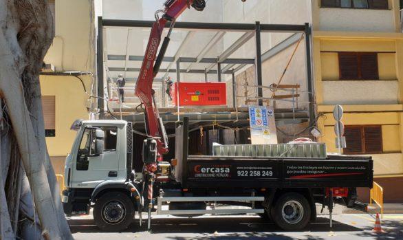 Herstellung, Lieferung und Montage von Metallkonstruktionen