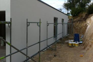 Acabado de las paredes exteriores